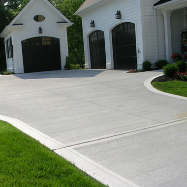 Concrete driveway resurfacing repair in fort worth tx for Temperature to pour concrete driveway