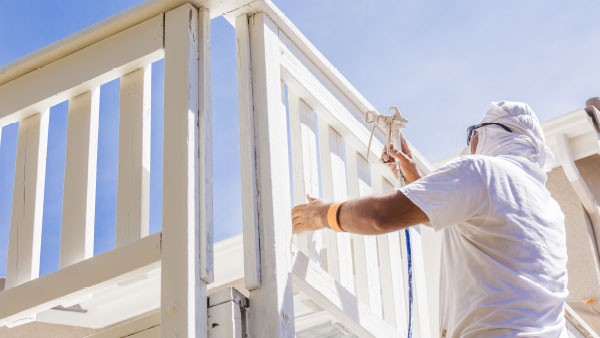 Exterior house painting services in Texas