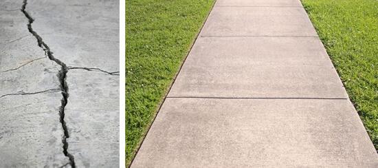 Concrete Sidewalk Repair in Dallas