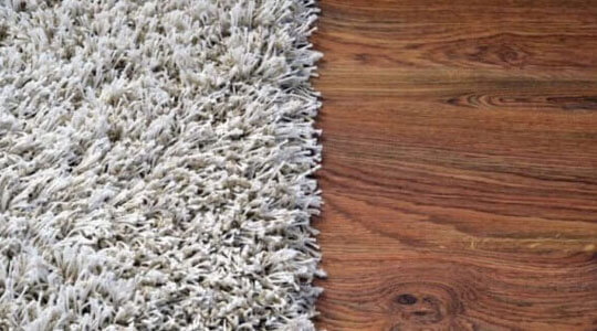 Carpets vs. wooden floors: which option is for you? works
